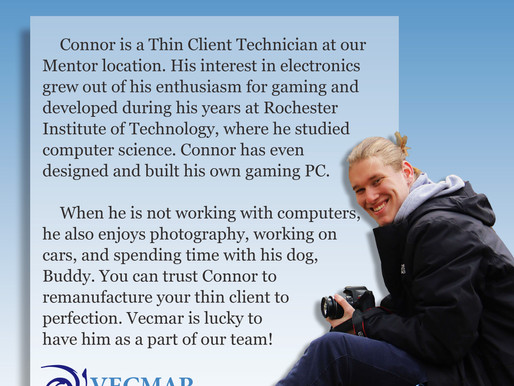 Employee Bio: Connor