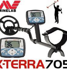 X-TERRA 705 Dual Pack Metal Detector