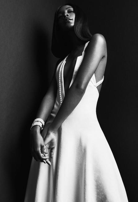 Bifurcated Gown