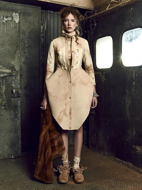 Anastasia's Shirtdress and Undie Dress