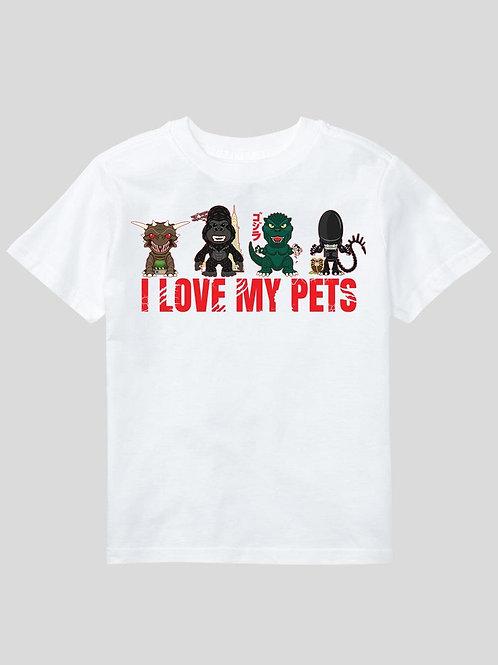 I love my pets