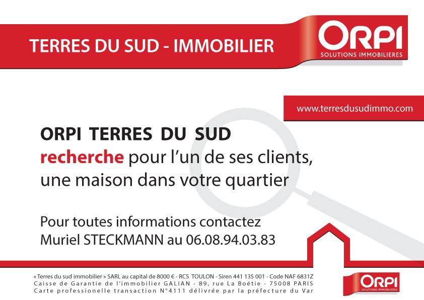 Flyer agence immobilière à Toulon