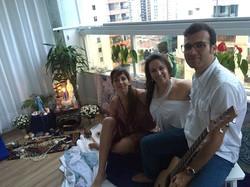 Músicos - Laya e Carlos Gardelha