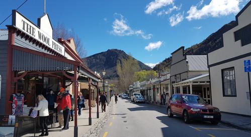 Arrowtown Main street