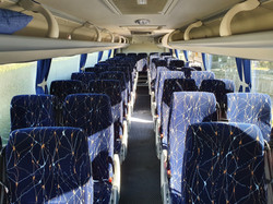 Bus Inside 43 seats