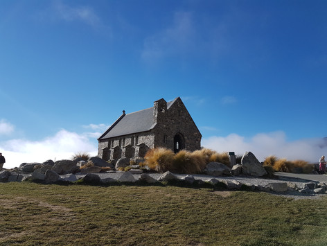 Lake Tekapo Church of the Good Shepherd chauffeurnz.com