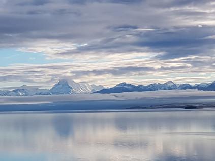 Mount Cook reflection lake Pukaki chauffeurnz.com