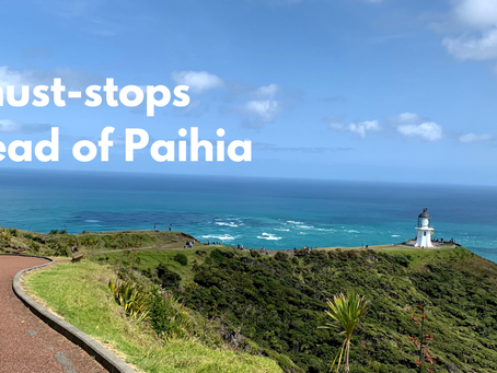 5 must-stops ahead of Paihia in the Bay of Islands, New Zealand