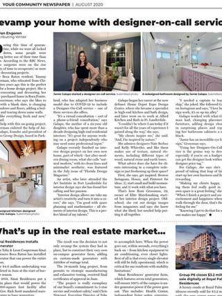 Boca News Design Article August 2020