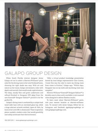 Florida Design Article, July 2020