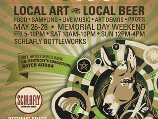 Schlafly Art Outside Alternative Art Fair 2017