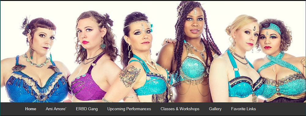 Exotic Rhythms Belly Dance Site