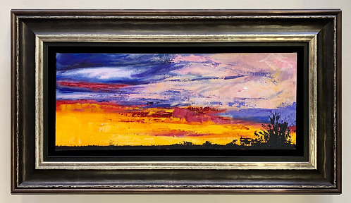 Flaming Sunset - Louise Berrill