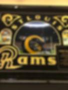 NFL Rams helmet