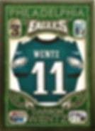 NFL Eagles American Football Soccer Shirt