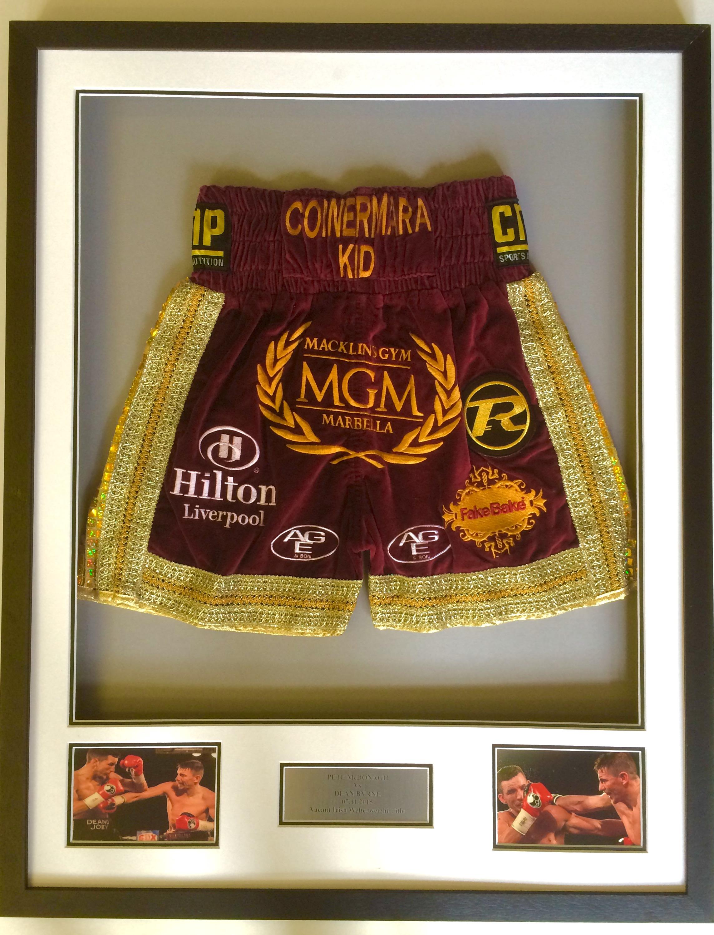 Pete McDonagh's Shorts