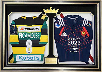 Double Rugby Shirt Frame
