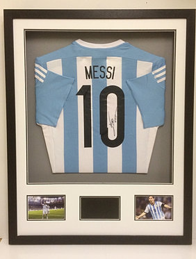 messi shirt frame