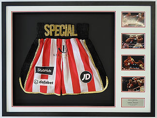 Kell Brook Fight Worn Shots (v Errol Spence)