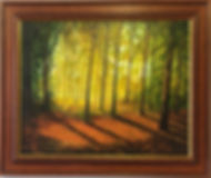 Oil paintings framed by our professional framers