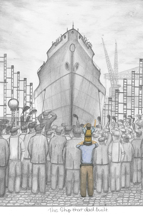 The Ship That Dad Built - Leigh Lambert