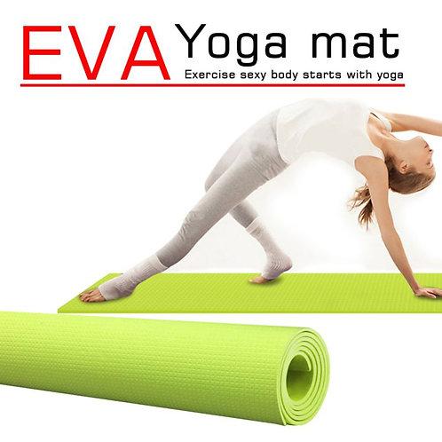 Sport Yoga Mat With Position Line Non Slip Carpet Beginner Mat