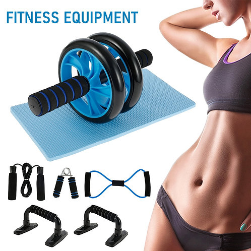 5-In-1 Abdominal Press Wheel Roller Muscle Trainer