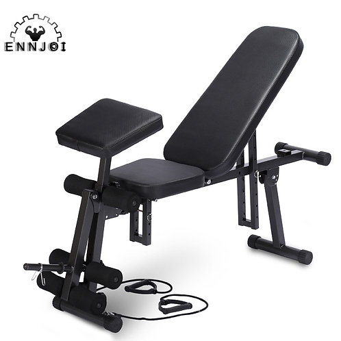 Multi-Functional Fitness Workout Bench Exercise Training