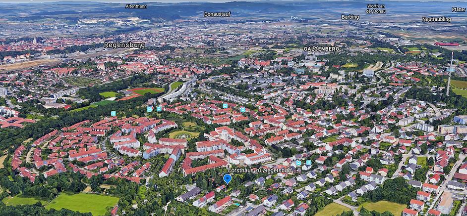 Luftbild von Süden