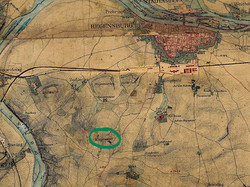 Historische Karte 1856