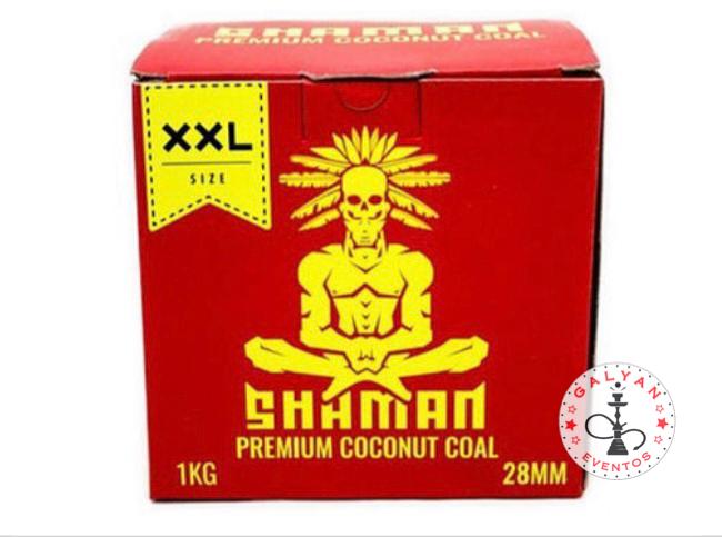 Carbón Shamman 28mm 1 kilo