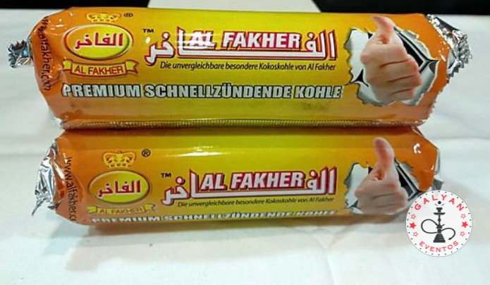 Carbón Autoencendido Al Fakher 40mm