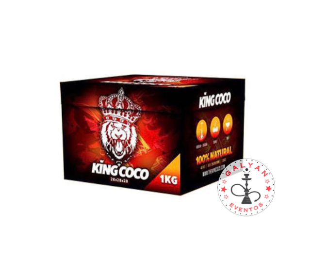 Carbón Kingcoco 28mm 1Kilo