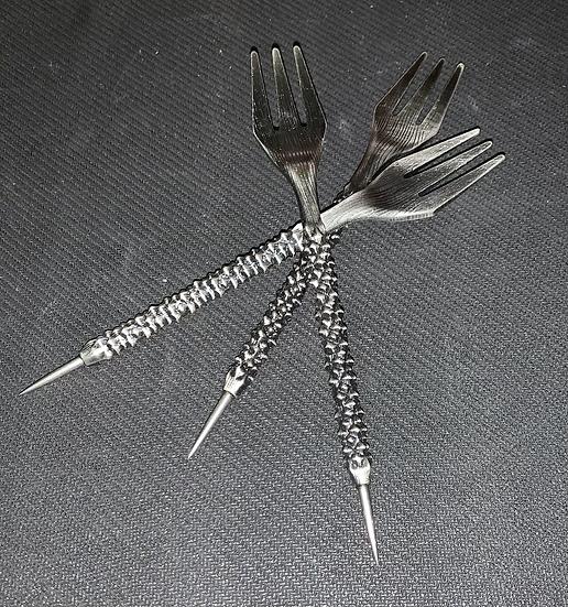 Punzon+Tenedor estilo Ruso