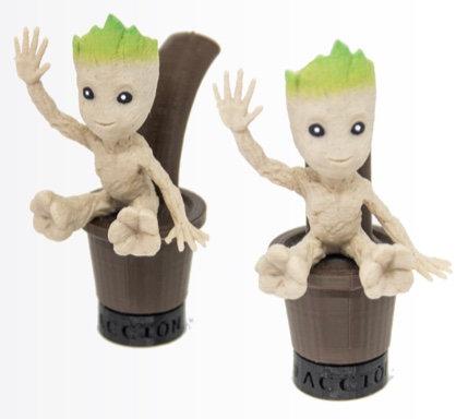 Boquilla 3D Groot Guardian + Layard