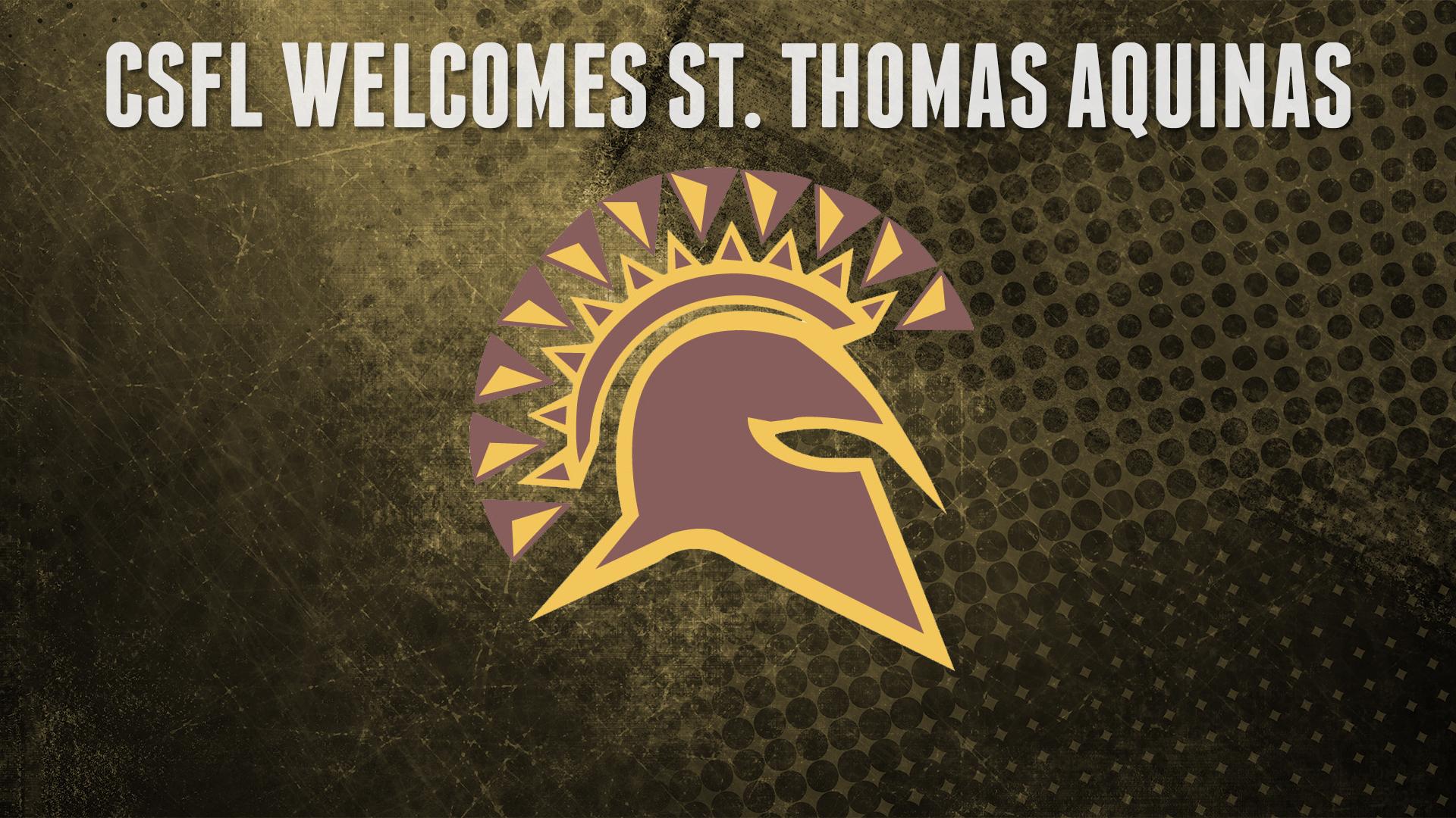 St Thomas Aquinas Joins Csfl Csfl