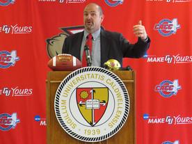 Caldwell names Weiss head coach