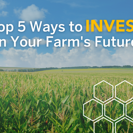 How to Invest in Your Farm's Future