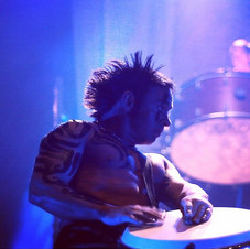 Djembe Solo #extremerhythm #nickbaileyofficial #theatre #djembe #drummer #percussion #instadaily #hair #bodyart #tribal #music #musicproduce