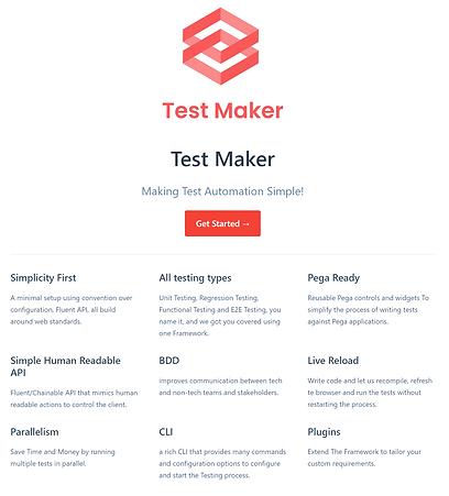 Test Maker Document