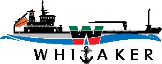 Whitaker Logo black anchor.png