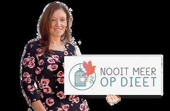 Nathalie Theys, Nooit meer op dieet, getuigenis