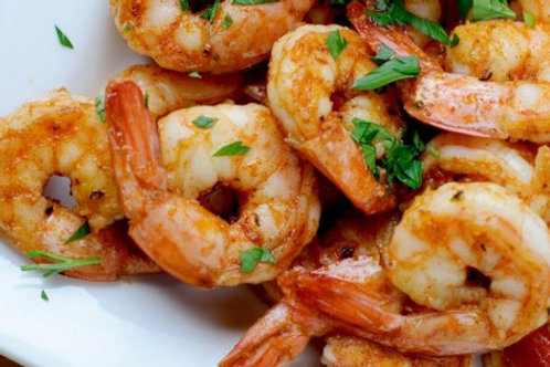 grilled NC shrimp for home delivery