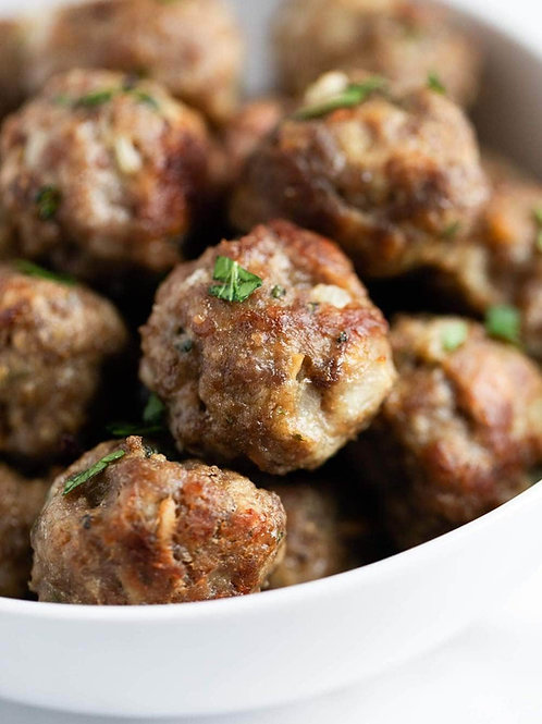Home delivery meatballs with sauce near Pittsboro, NC