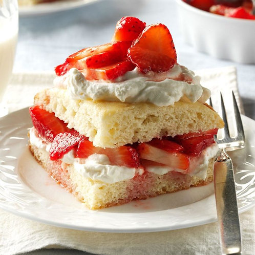 Phillips Farms Strawberries with Cream Biscuits