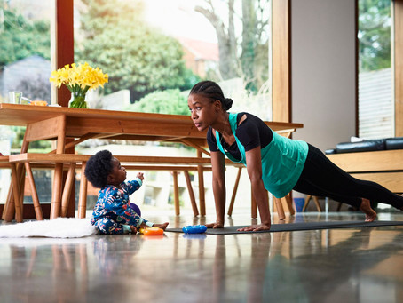 Stay-at-home strategies for your best body