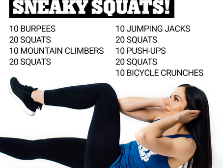 Sneaky Squats