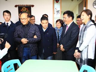 訪視|林全院長率台中地區首長、委員造訪大雅區「惠明盲校」