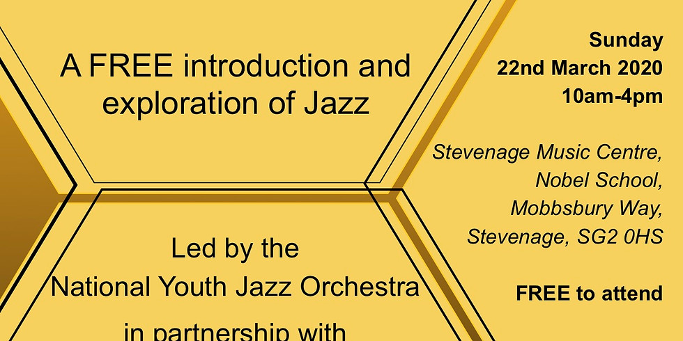 Workshop - Herts Youth Jazz Hive with NYJO
