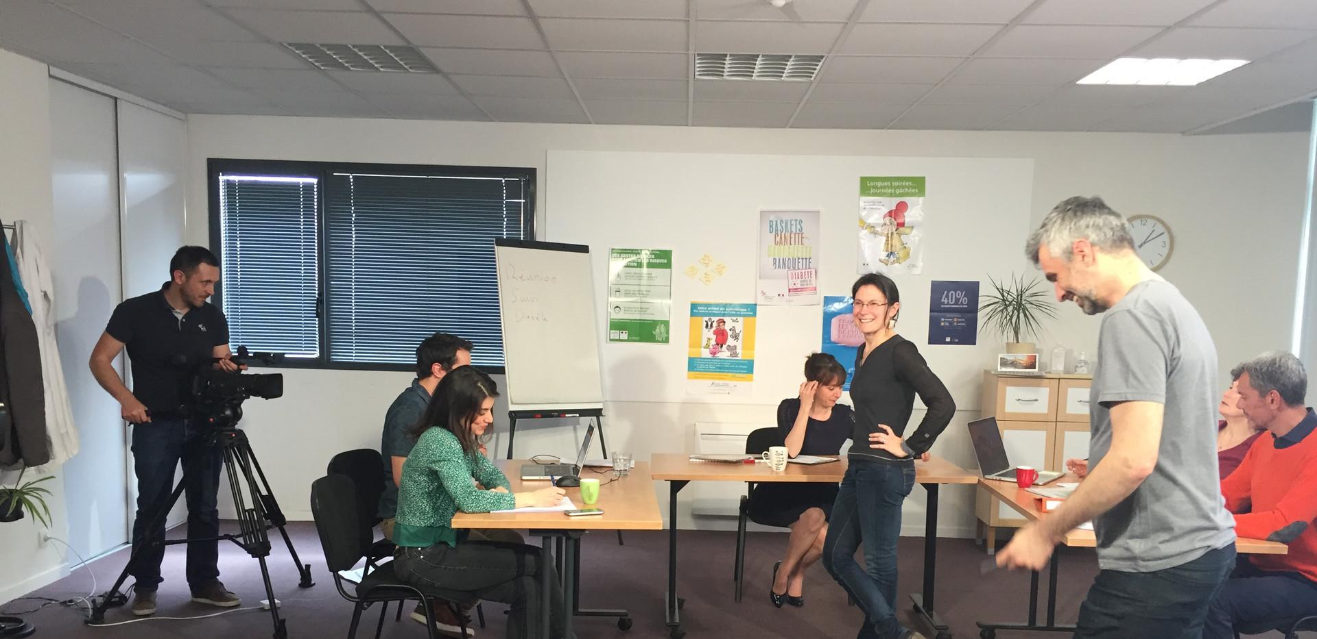 Tournage MOOC en santé par LBKrouin - 2017